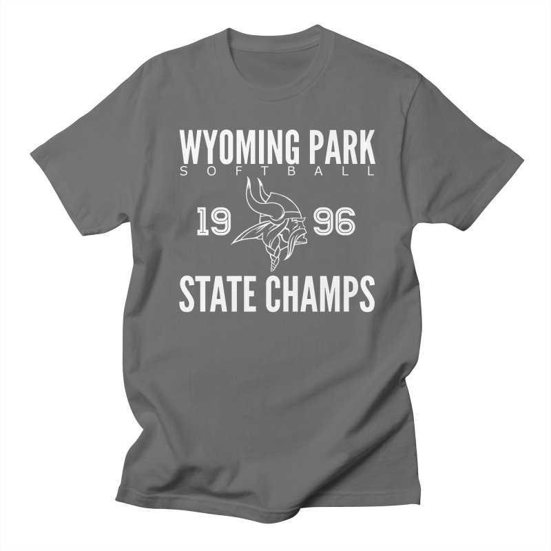 Wyoming Park 1996 Softball State Champs Men's T-Shirt by Elevation Wyoming