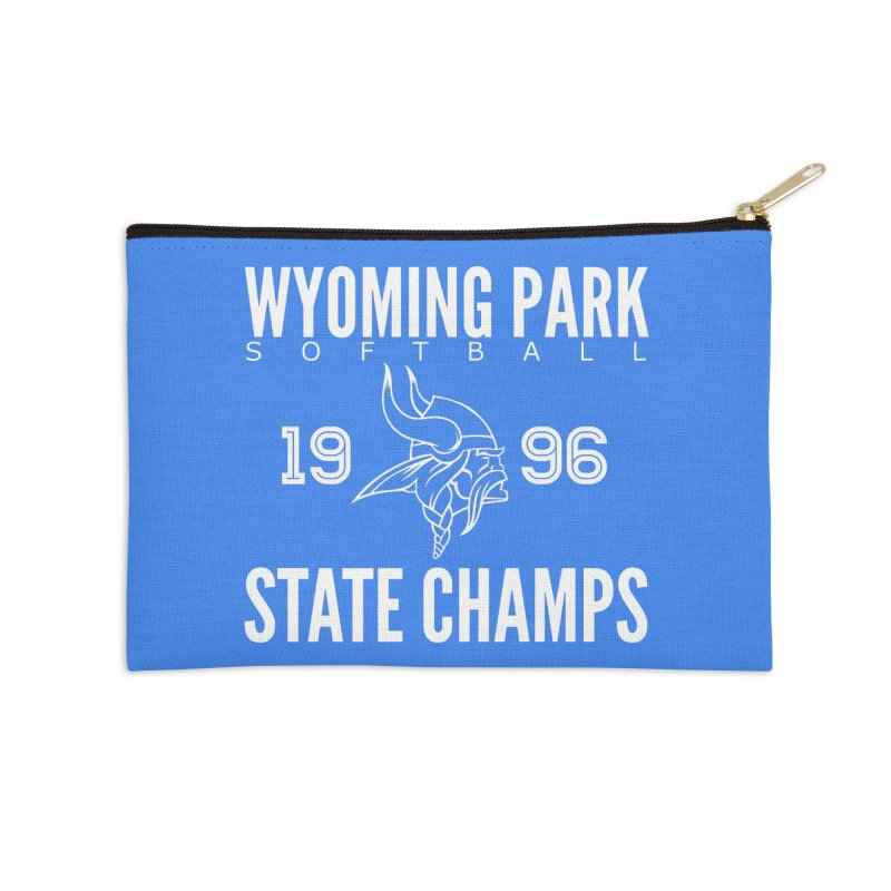 Wyoming Park 1996 Softball State Champs Accessories Zip Pouch by Elevation Wyoming