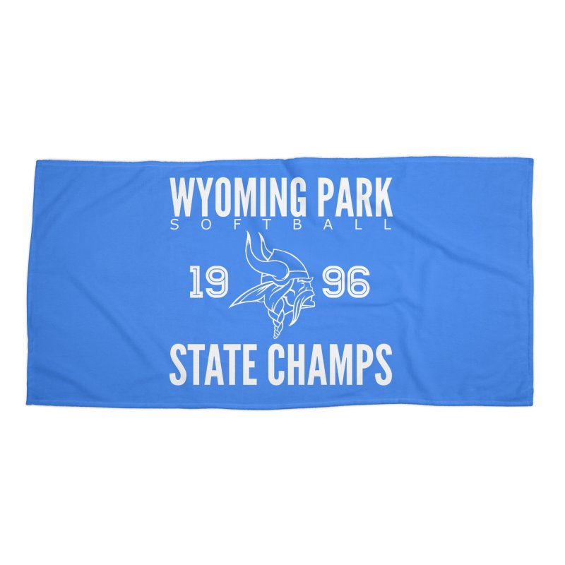 Wyoming Park 1996 Softball State Champs Accessories Beach Towel by Elevation Wyoming
