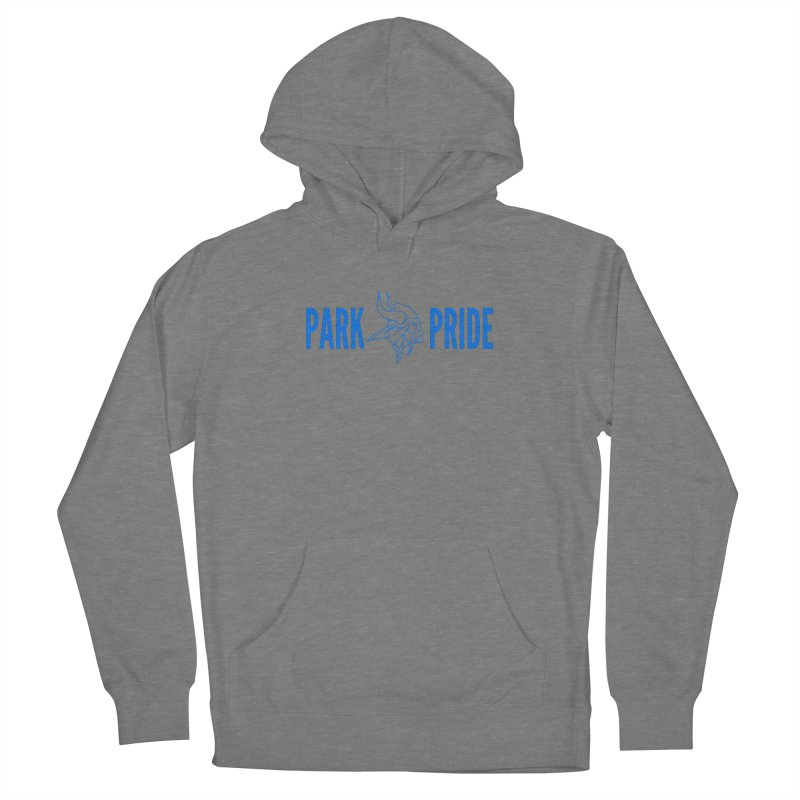 Park Pride Blue Women's Pullover Hoody by Elevation Wyoming