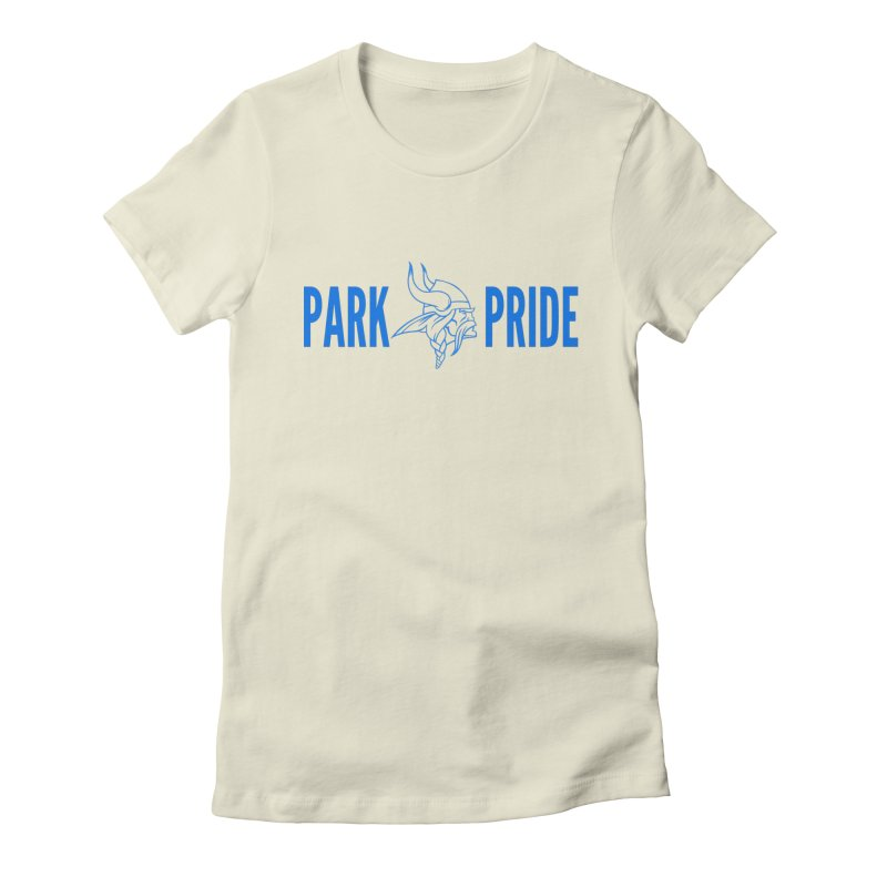 Park Pride Blue Women's T-Shirt by Elevation Wyoming