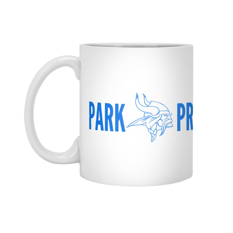 Park Pride Blue Accessories Mug by Elevation Wyoming