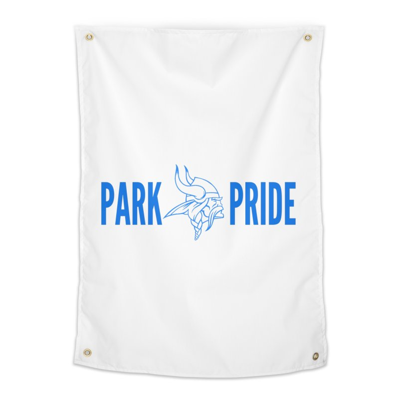 Park Pride Blue Home Tapestry by Elevation Wyoming