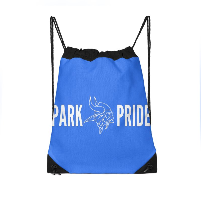 Park Pride White Accessories Bag by Elevation Wyoming