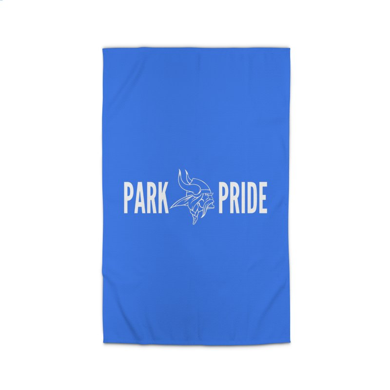 Park Pride White Home Rug by Elevation Wyoming