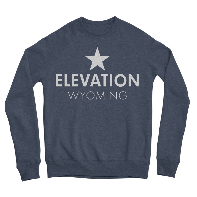 Elevation Wyoming 2019 Men's Sponge Fleece Sweatshirt by Elevation Wyoming