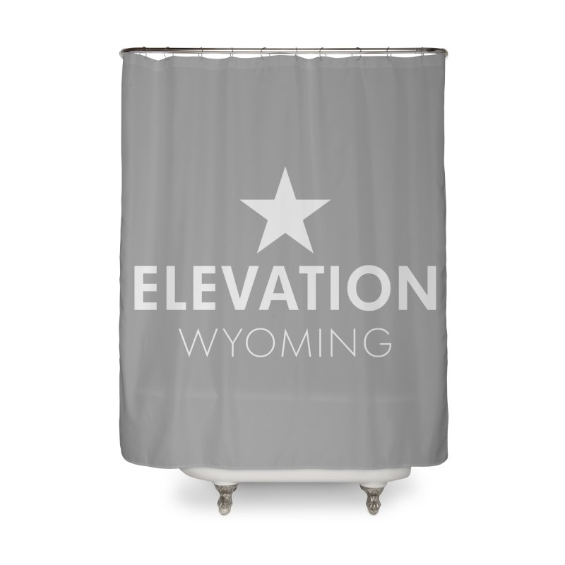 Elevation Wyoming 2019 Home Shower Curtain by Elevation Wyoming