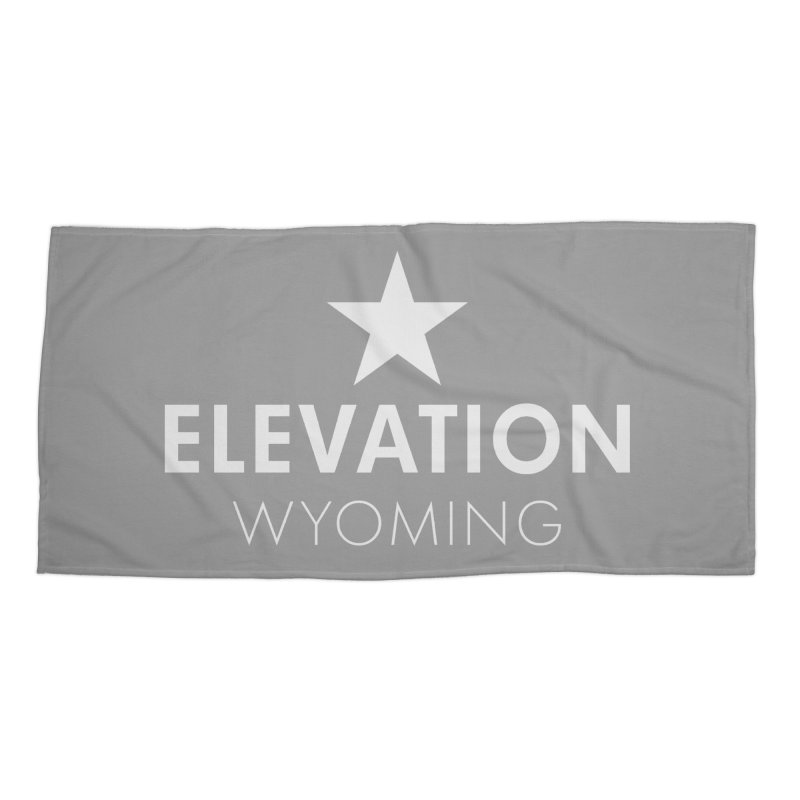 Elevation Wyoming 2019 Accessories Beach Towel by Elevation Wyoming