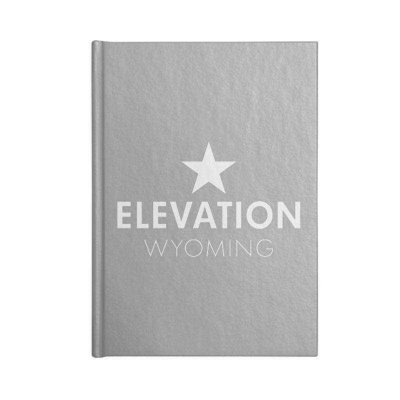 Elevation Wyoming 2019 Accessories Lined Journal Notebook by Elevation Wyoming