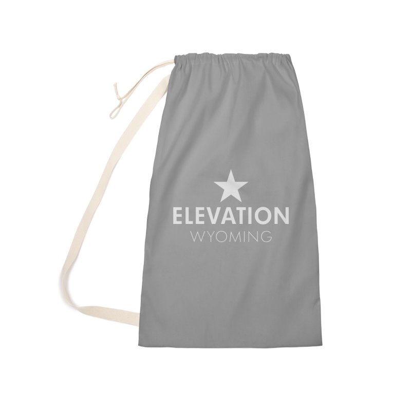 Elevation Wyoming 2019 Accessories Laundry Bag Bag by Elevation Wyoming