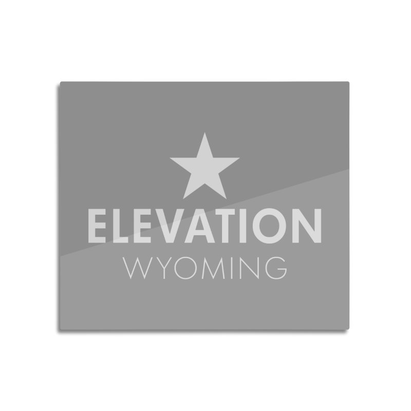 Elevation Wyoming 2019 Home Mounted Acrylic Print by Elevation Wyoming