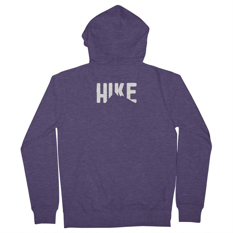 Hike Mountains Men's French Terry Zip-Up Hoody by eleven