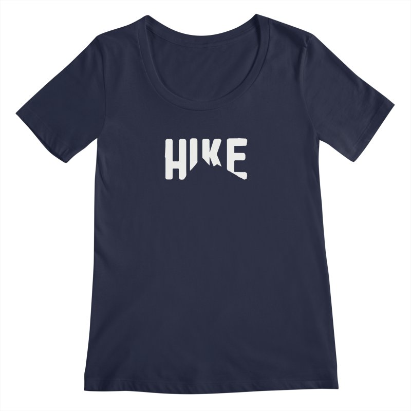 Hike Mountains Women's Regular Scoop Neck by eleven