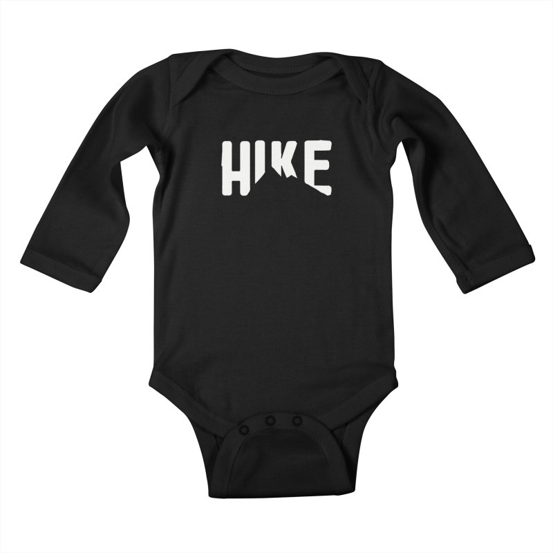 Hike Mountains Kids Baby Longsleeve Bodysuit by eleven