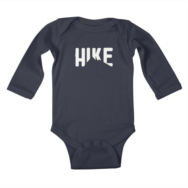 Hike Mountains Kids Baby Longsleeve Bodysuit by eleven