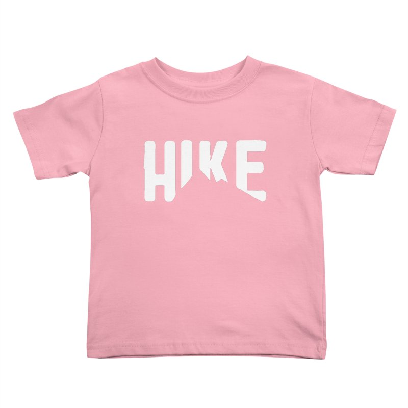 Hike Mountains Kids Toddler T-Shirt by eleven