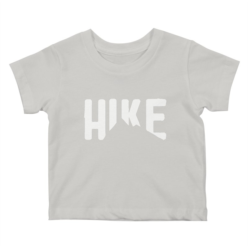 Hike Mountains Kids Baby T-Shirt by eleven