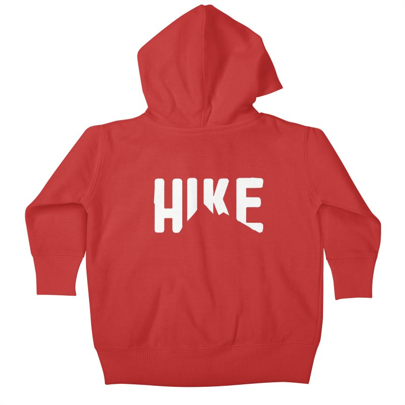 Hike Mountains Kids Baby Zip-Up Hoody by eleven