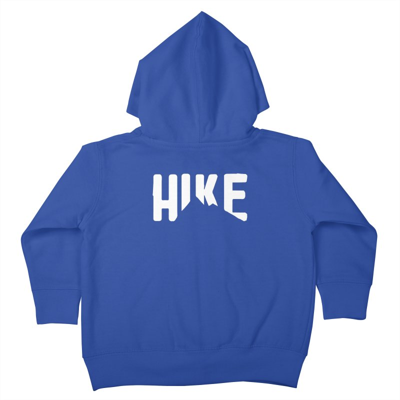 Hike Mountains Kids Toddler Zip-Up Hoody by eleven