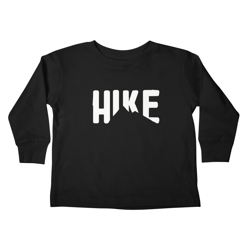 Hike Mountains Kids Toddler Longsleeve T-Shirt by eleven