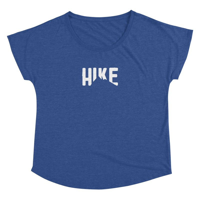 Hike Mountains Women's Dolman Scoop Neck by eleven