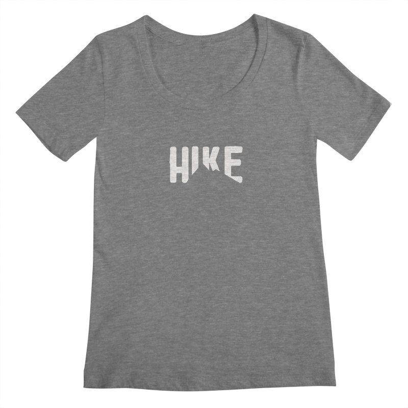 Hike Mountains Women's Scoopneck by eleven