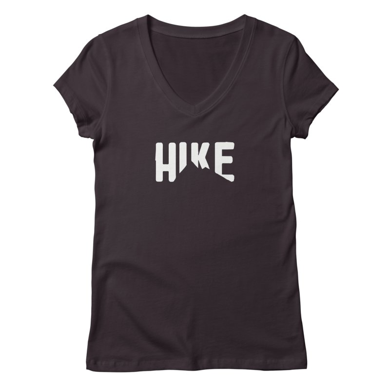 Hike Mountains Women's V-Neck by eleven