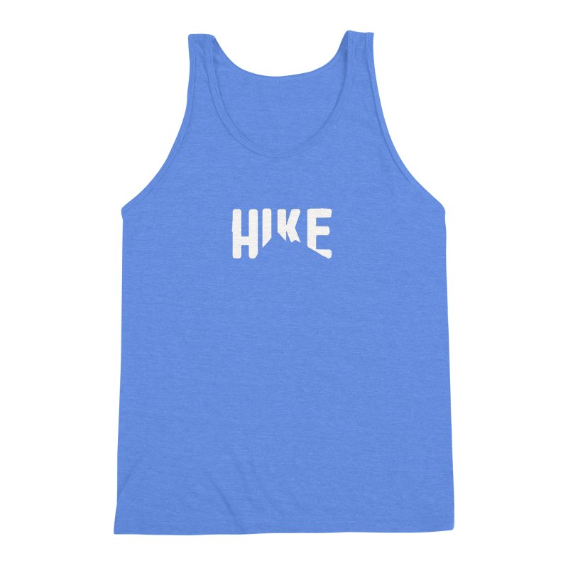 Hike Mountains Men's Triblend Tank by eleven