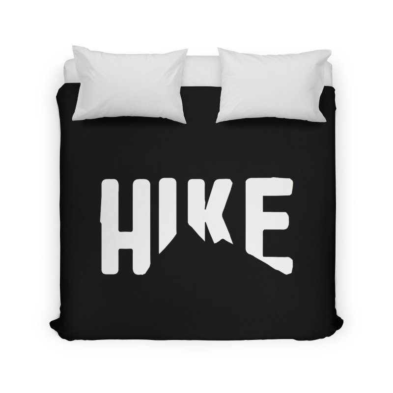 Hike Mountains Home Duvet by eleven