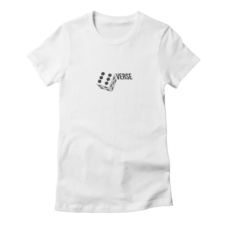 DieVerse Women's Fitted T-Shirt by eleven