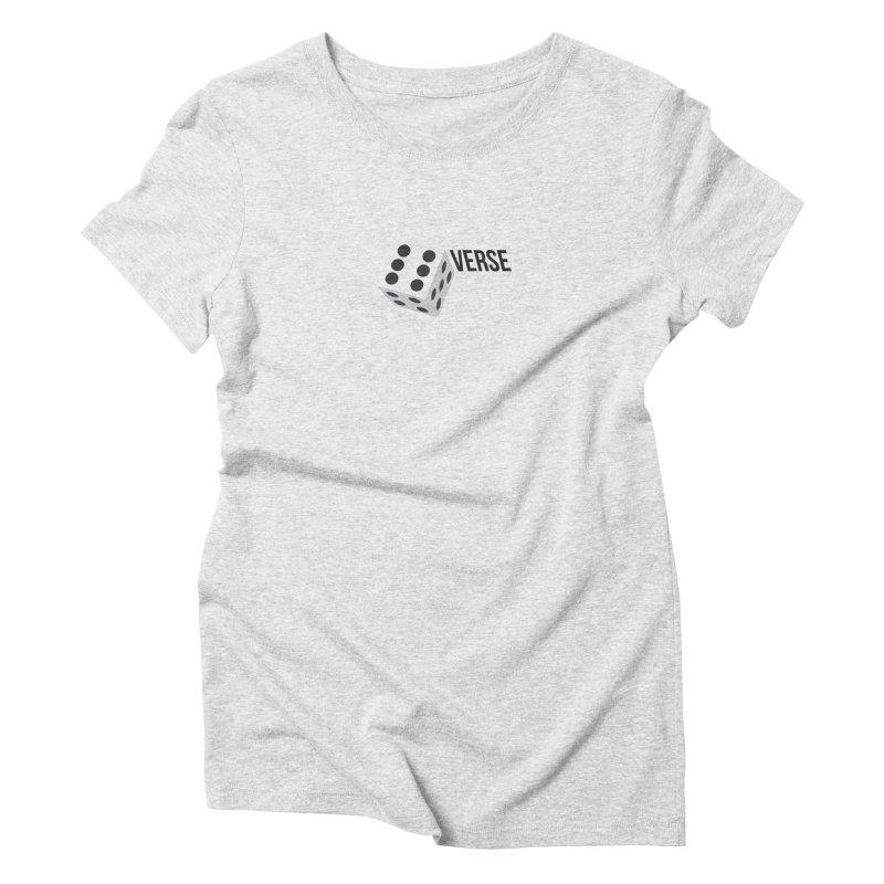 DieVerse Women's Triblend T-Shirt by eleven