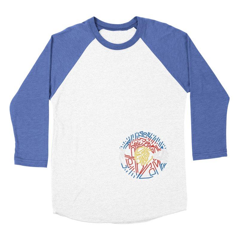 Colorado Clothing Company Women's Baseball Triblend Longsleeve T-Shirt by eleven