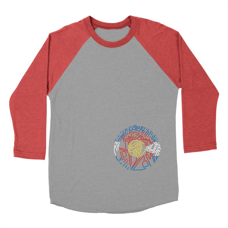 Colorado Clothing Company Women's Baseball Triblend Longsleeve T-Shirt by eleven