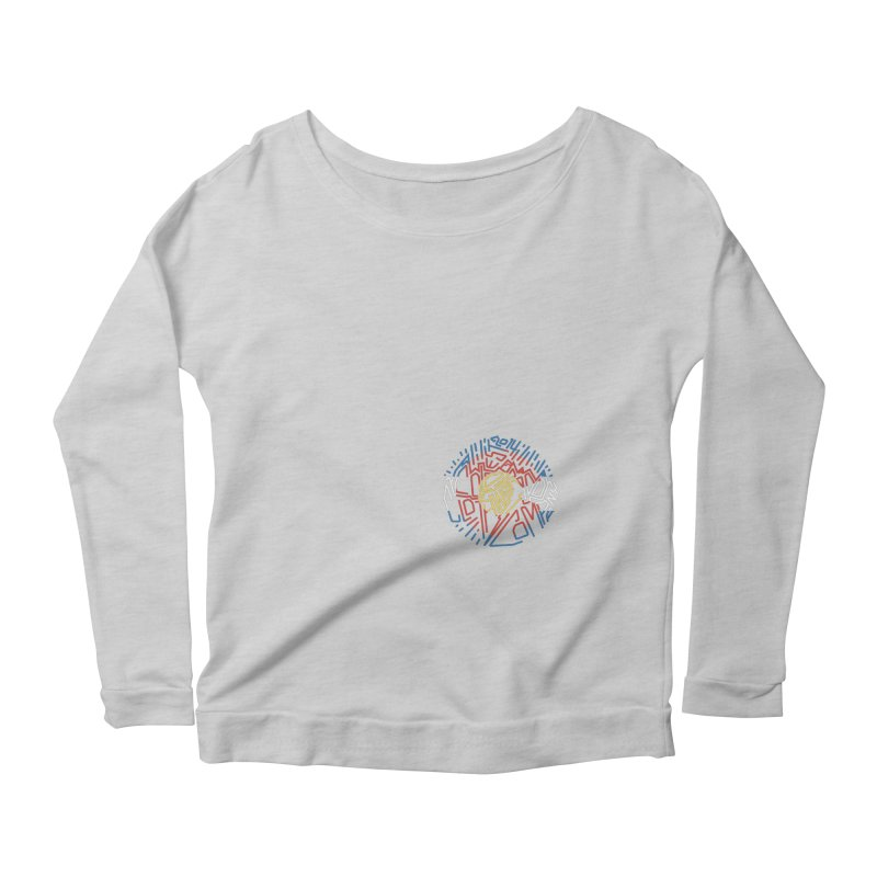 Colorado Clothing Company Women's Scoop Neck Longsleeve T-Shirt by eleven
