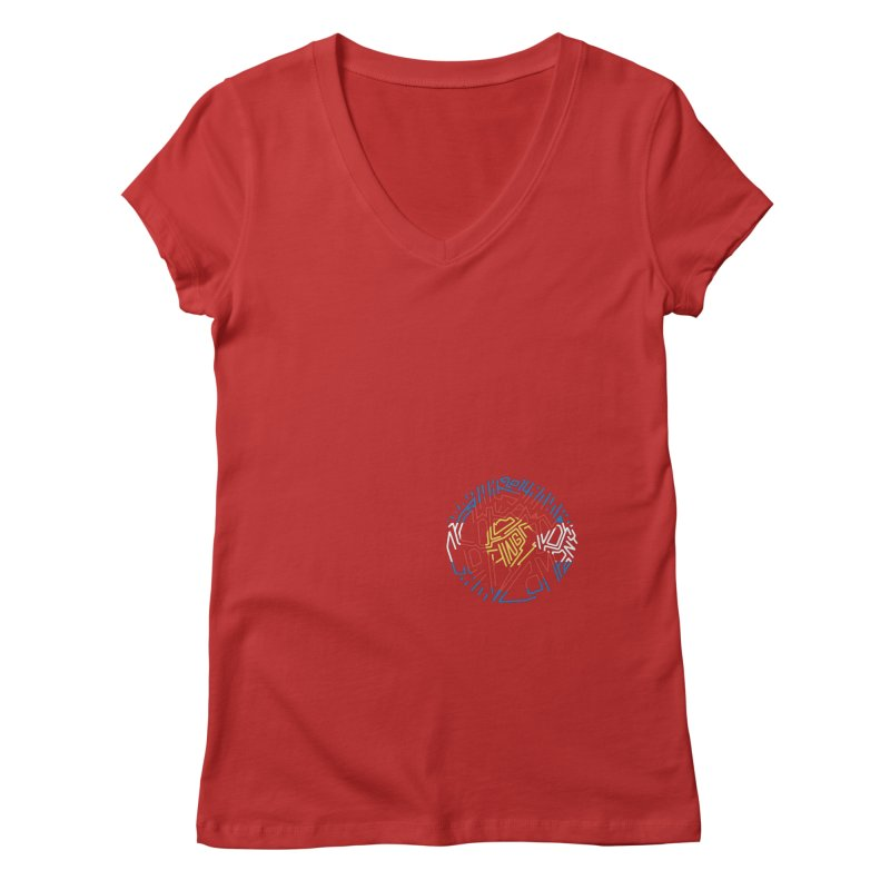 Colorado Clothing Company Women's Regular V-Neck by eleven