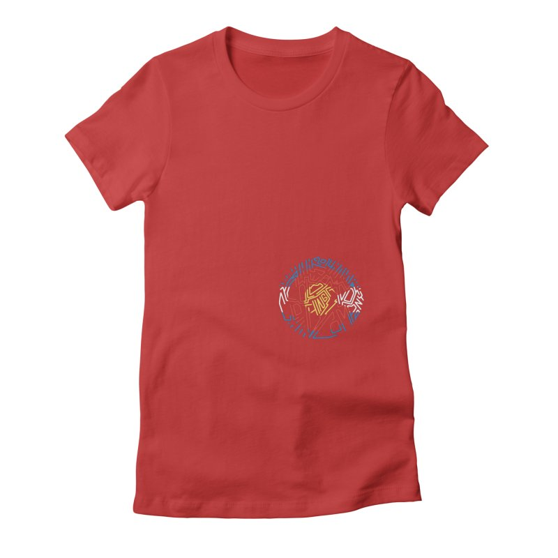 Colorado Clothing Company Women's Fitted T-Shirt by eleven
