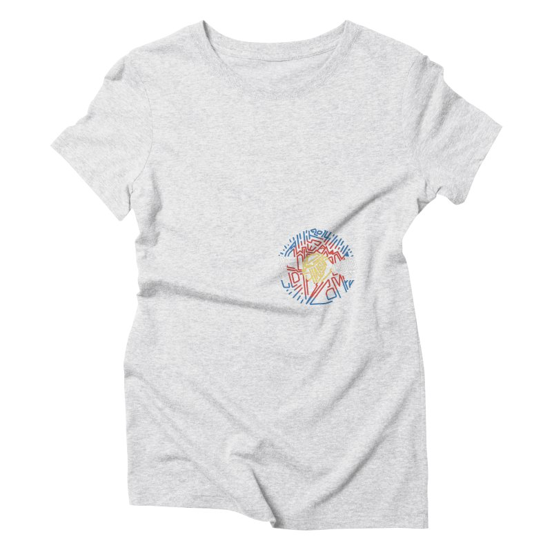 Colorado Clothing Company Women's Triblend T-Shirt by eleven