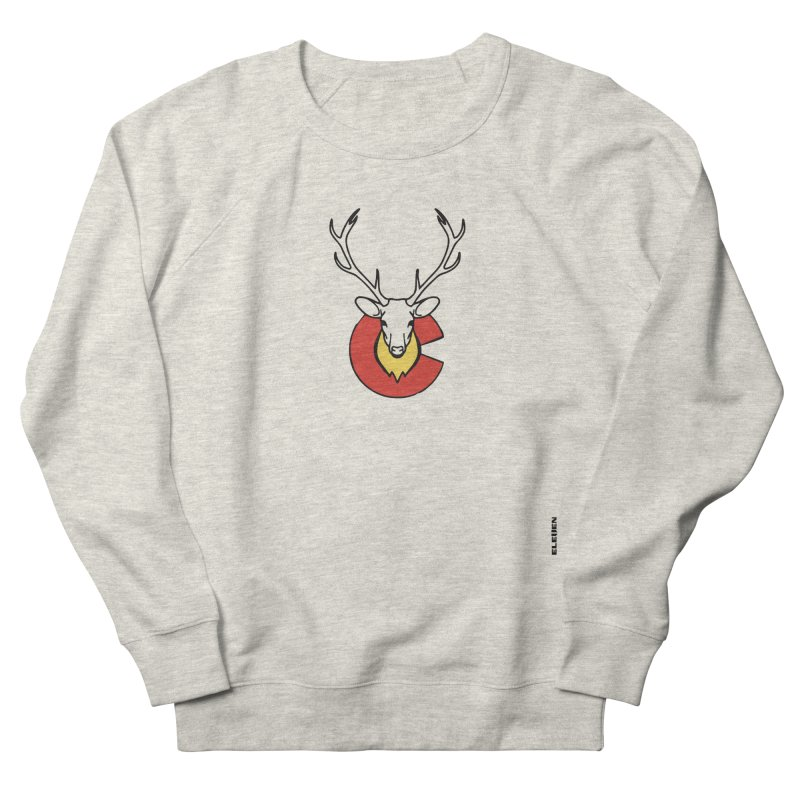 Deer Colorado Men's French Terry Sweatshirt by eleven