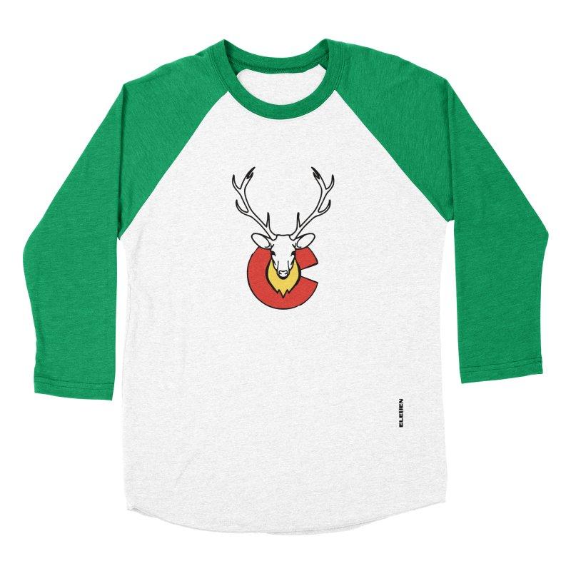 Deer Colorado Women's Baseball Triblend T-Shirt by eleven