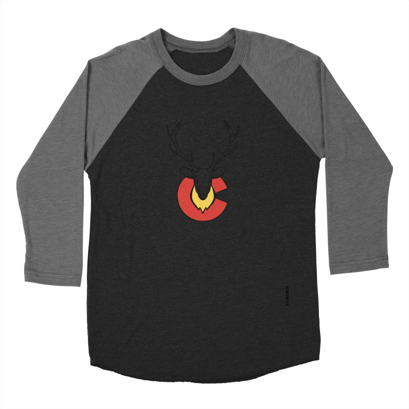 Deer Colorado Men's Baseball Triblend Longsleeve T-Shirt by eleven