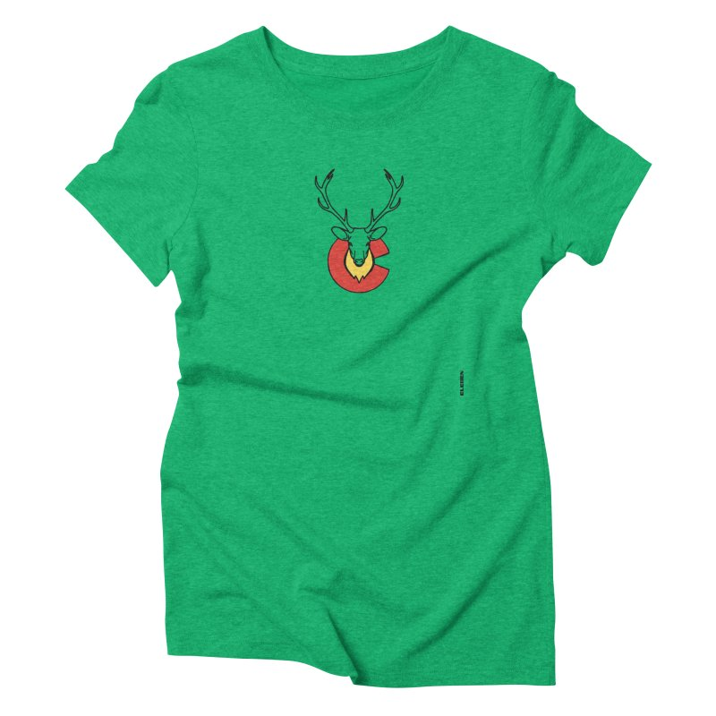 Deer Colorado Women's Triblend T-shirt by eleven