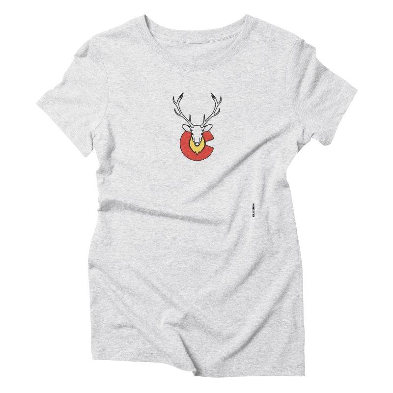 Deer Colorado Women's Triblend T-Shirt by eleven