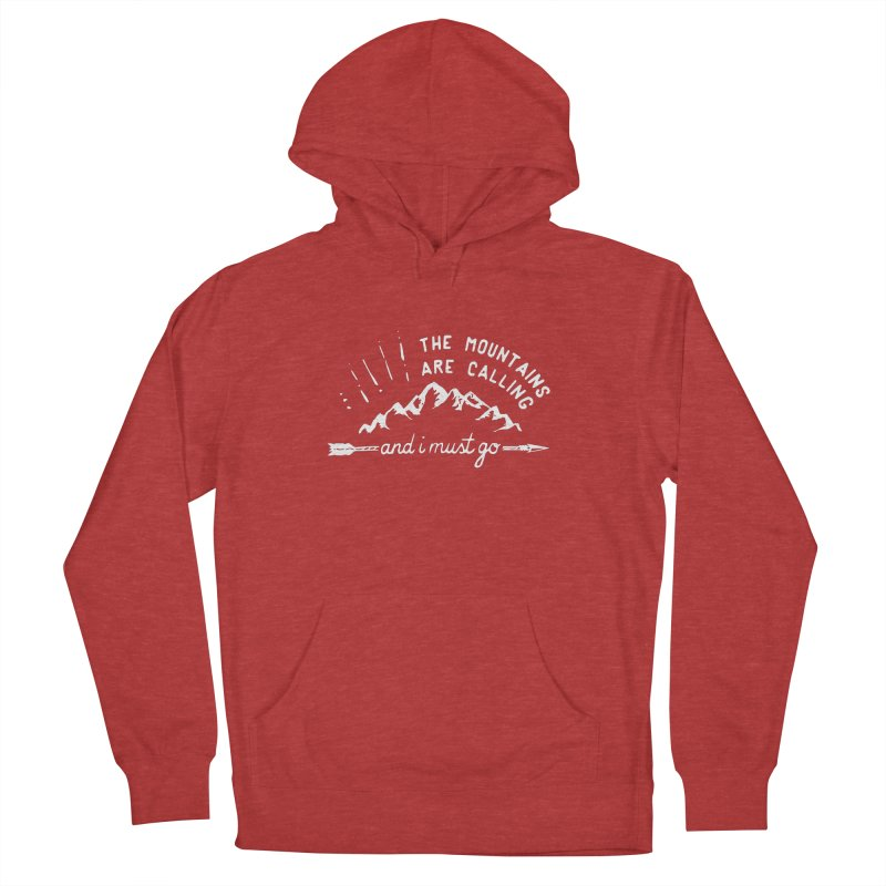 The Mountains are Calling Men's Pullover Hoody by eleven