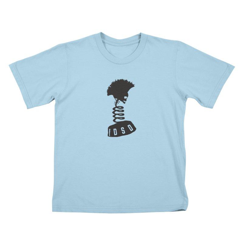 Diaz Suspension Design 2 Kids T-shirt by eleven