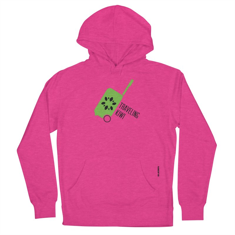 Traveling Kiwi Women's Pullover Hoody by eleven