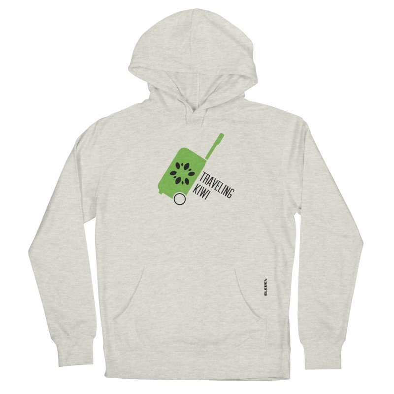 Traveling Kiwi Men's French Terry Pullover Hoody by eleven