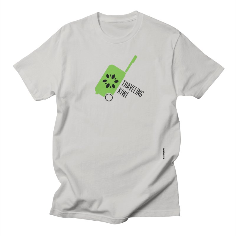 Traveling Kiwi Men's T-shirt by eleven