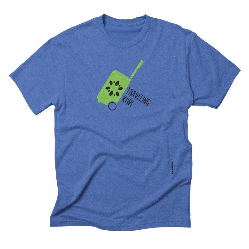 Traveling Kiwi Men's Triblend T-Shirt by eleven