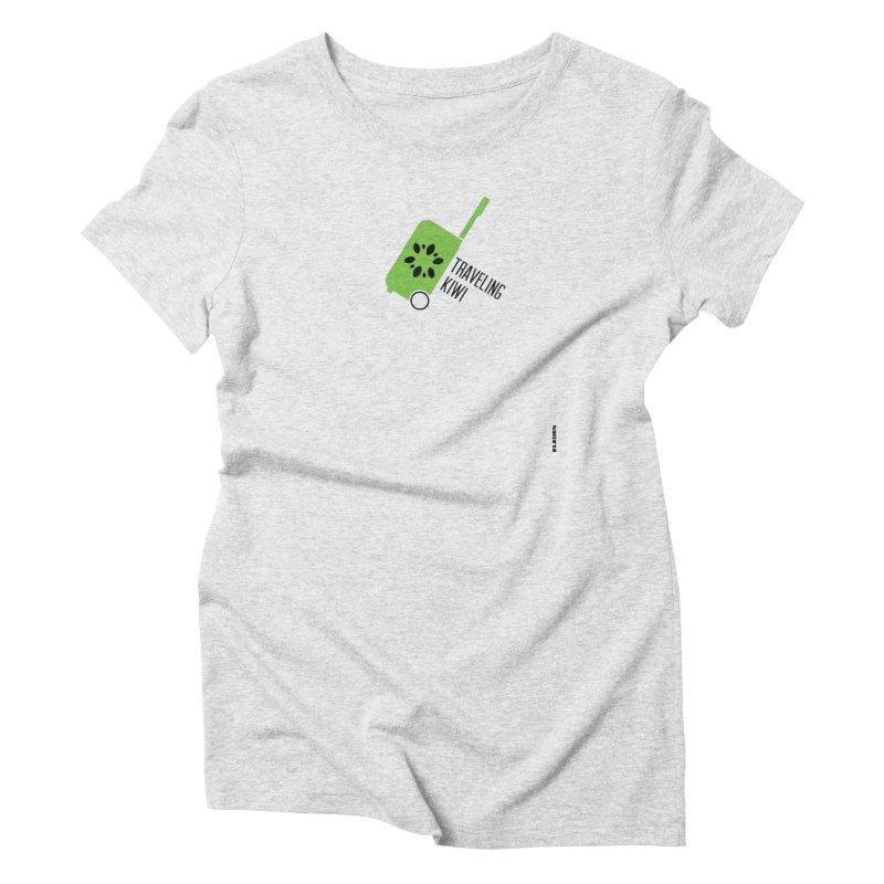 Traveling Kiwi Women's T-Shirt by eleven