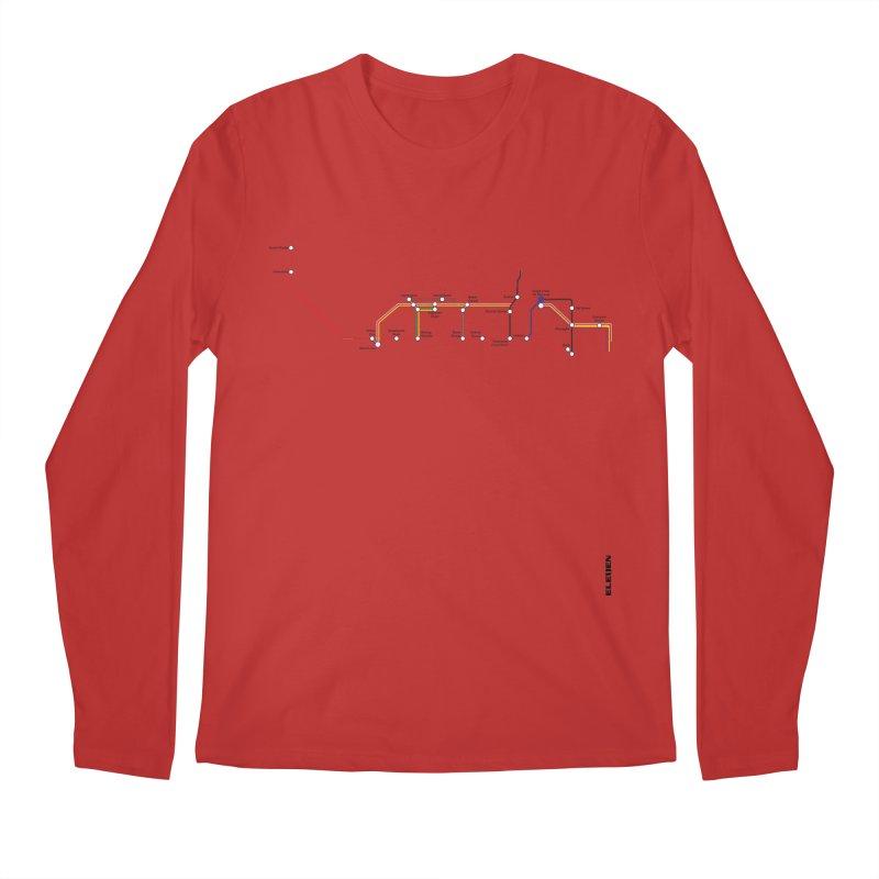 London Tube Men's Longsleeve T-Shirt by eleven